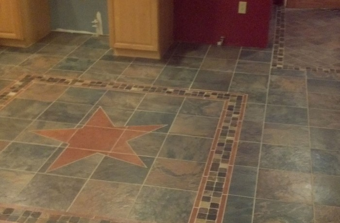 Custom Tile Inlay